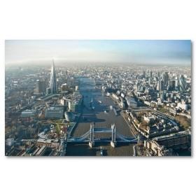 Αφίσα (Λονδίνο, ύψος, κτίρια, ουρανός, ουρανοξύστες, κτίρια)